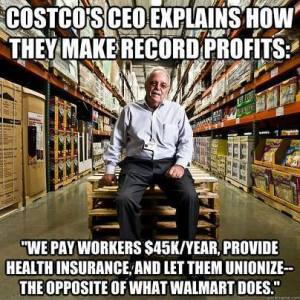CostcoPaysStillProfits