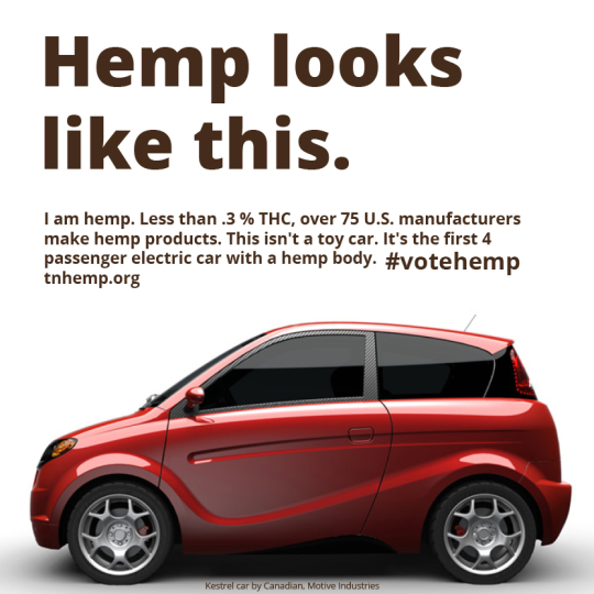 HEMP Body - Electric Car